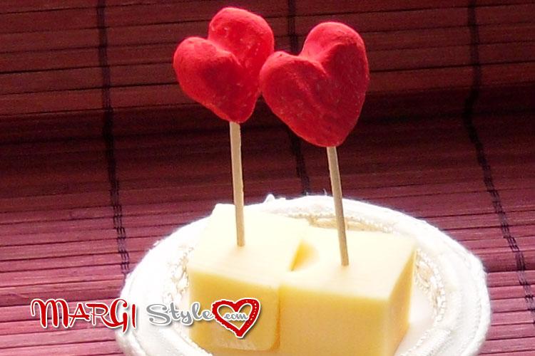Decorazioni pasta di sale cuori di san valentino - Decorazioni di san valentino ...