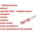 Definizione e proprietà della moltiplicazione