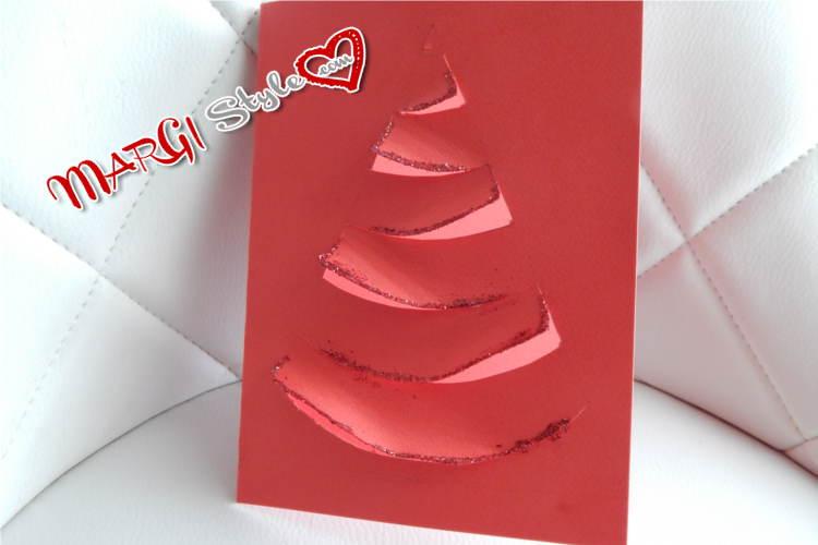 Estremamente Biglietti natalizi fai da te MarGistyle CM81