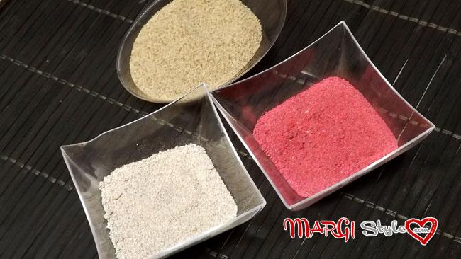 colorare la sabbia