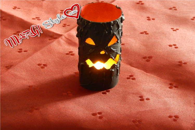 lanterna halloween fai da te