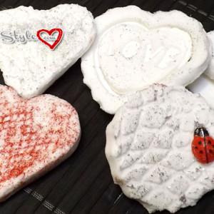 decorazioni in pasta di bicarbonato