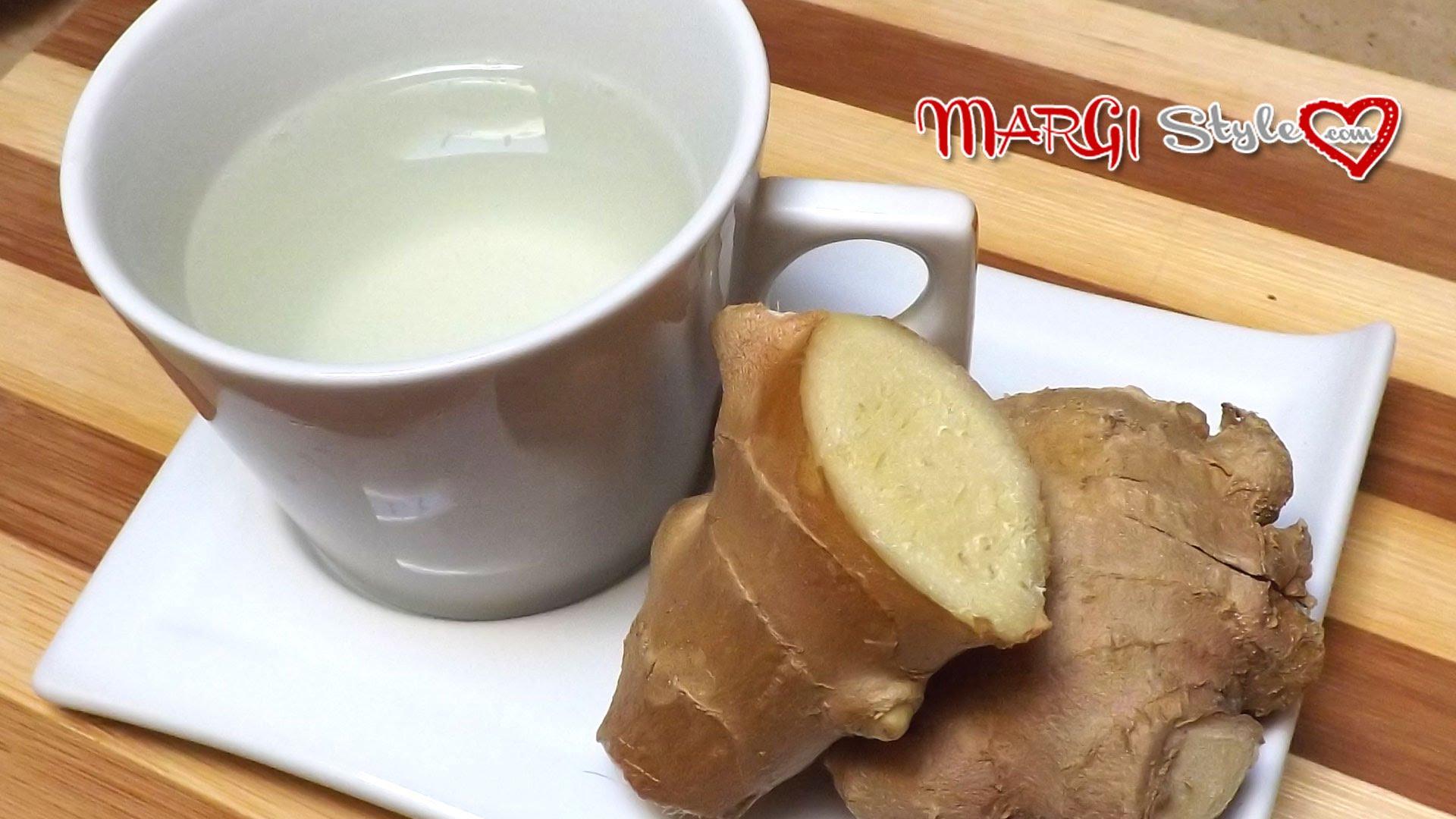 Tisana detox zenzero e limone