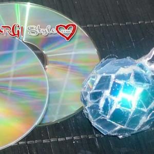 riciclo cd creativo