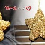 Decorazioni stella di Natale fai da te