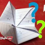 Origami indovino